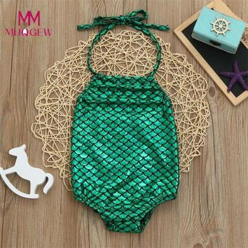 Childrens Swimsuit Cute 2~6years Baby Girls One Piece Print Swimwear  Kids Bikini Bathing Suit Beachwear 2018 New Summer Children Swimwear KO_25_2