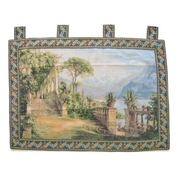 "Grace of Love Elegant Woven Fabric Baroque Tapestry Wall Hanging - 36"" x 50"""