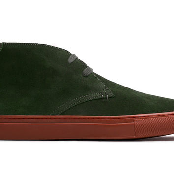 The Royale Chukka - Cargo Green Suede