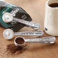 Coffee Scoop Bag Clips by Mud Pie