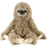 Wild Republic Cuddlekin Three-Toed Sloth Stuffed Animal