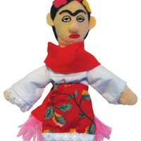 Frida Kahlo Finger Puppet - Also a Magnet  - Whimsical & Unique Gift Ideas for the Coolest Gift Givers