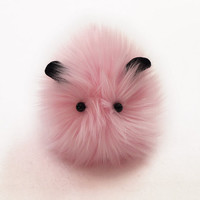 Fluff Small Pink Stuffed Guinea Pig Plushie