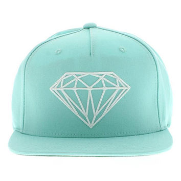 Diamond Supply Co. - Brilliant Snapback - Diamond Blue