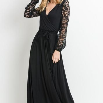 Palace Lace Wrap Maxi