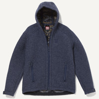 Blaer Men's Hooded Wool Jacket - 66°NORTH