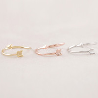 Wrap Around Arrow Rings