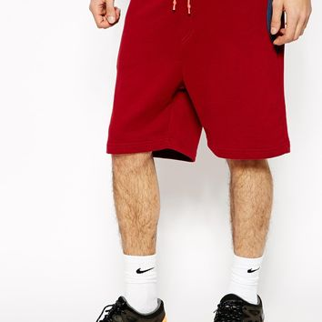 Supremebeing Sweat Shorts - Red