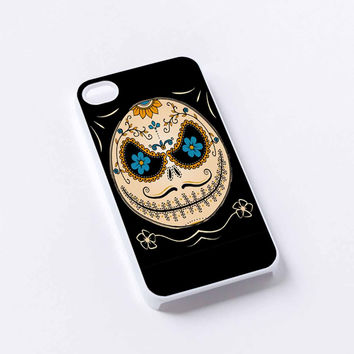 jack skellington calavera iPhone 4/4S, 5/5S, 5C,6,6plus,and Samsung s3,s4,s5,s6