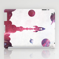 space rocket iPad Case by Darthdaloon