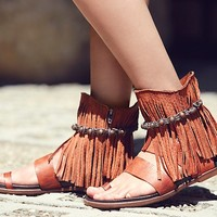 Free People Washed Ashore Fringe Sandal