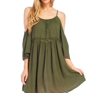 Cherie Cold Shoulder Dress