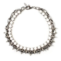 Joomi Lim | Let Them Eat Cake Crystal and Spike Choker