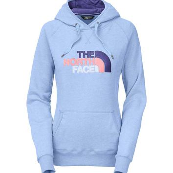 The North Face Avalon Pullover Hoodie for Women in Powder Blue CZZ4-GCL
