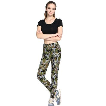 Camouflage Army Leggings