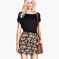 Viscose skirt - from H&M