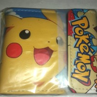 Brand New Japan Anime Video Game Pokemon Wallet