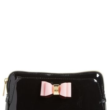 Ted Baker London Julis Bow Cosmetics Bag | Nordstrom