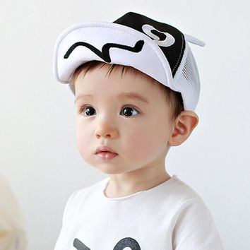 Children Hat Summer Mesh Soft Brim