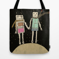 over the moon  Tote Bag by bri.buckley