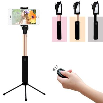 Portable Wired Stretchable Selfie Stick Monopod For Samsung Xiaomi Phone Monopod Palo Selfie Sticks Tripod Holder pau de self