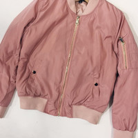 Pretty In Pink Bomber Jacket
