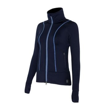 Noble Outfitters Ladies Explorer Fleece Jacket - Dark Navy