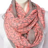 Neon Cheetah Scarf - Scarves - Accessories