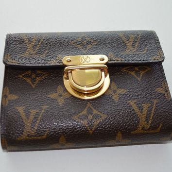 Louis Vuitton Brown Monogram Canvas Koala Wallet