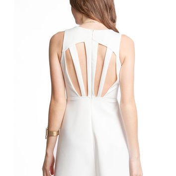 Turn It Up Dress - Off White