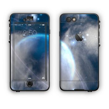 The Vivid Lighted Halo Planet Apple iPhone 6 Plus LifeProof Nuud Case Skin Set