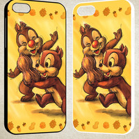 Chip n Dale Childhood Memories F0392 iPhone 4S 5S 5C 6 6Plus, iPod 4 5, LG G2 G3, Sony Z2 Case