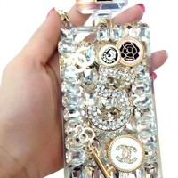 Chanel Crystal Bling iPhone Case