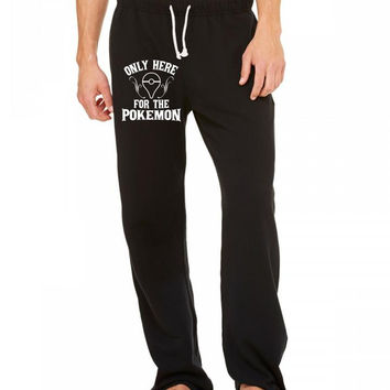 only here for the pokemon Sweatpants