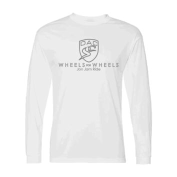 Jon Jam Ride Adult Long Sleeve Performance Tee