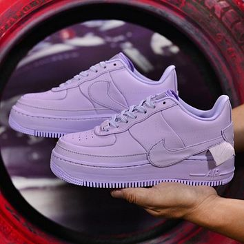 Nike Air Force 1 Fashion New Sports Leisure Women Men Running High Quality Shoes Purple