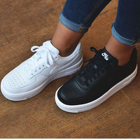 """""""Nike """"Fashion men's women shoes air force white sandals leisure sports shoes classic casual shoes B"""