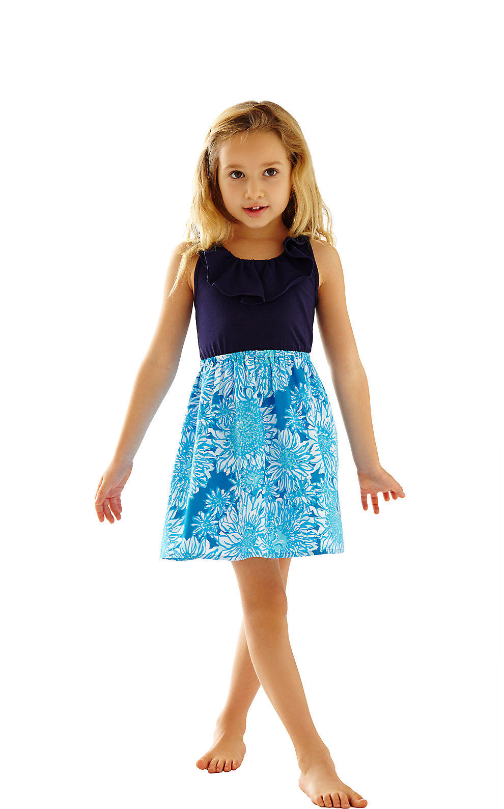 Lilly Pulitzer Girls Little Loranne Dress From Lilly