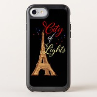 Brown Yellow Eiffel Tower iPhone 8/7/6s/6 Case