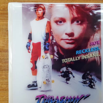 Single Tile Drink Coaster Thrashin Skateboarding  80s Movie Drink Coaster