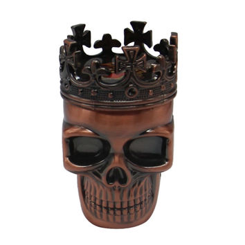1 Pcs Cool King Skull Tobacco Herb Spice Grinder