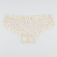 Early Winter Boyshorts Ivory  In Sizes