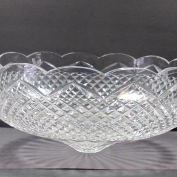 Signed Waterford crystal lampshade Replacement, Hand cut in Ireland