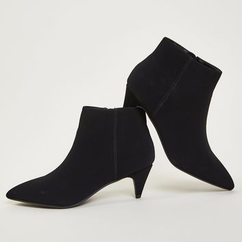 Kitten Heel Booties