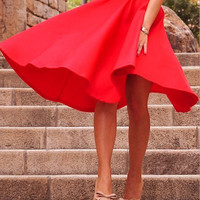 Fashion sexy Solid color skirts