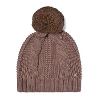 Tory Burch Large Cable-knit Pom-pom Hat