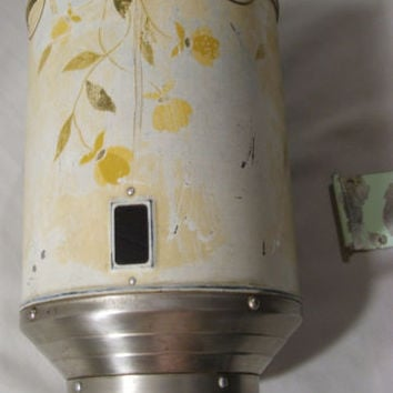 Meas-O-Matic Jewel Tea Hall Autumn Leaf 1940's Coffee Dispenser Mounting Bracket