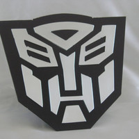 Transformer Polished Aluminum and Steel 14 Gauge Trailer Hitch Cover