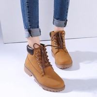 Fashion Motocycle booties Women Boots  Female Womens Ankle Boots