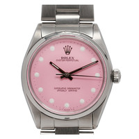 Rolex Oyster Perpetual Wristwatch with After-Market Dial circa 1985 | 1stdibs.com